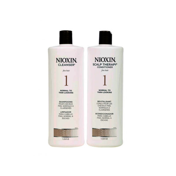 Nioxin System 1 Shampoo and Conditioner Pack
