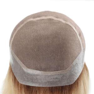 tymeless hair dark root blonde long wig medical wig cap