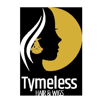Gold OnDark 350 Tymless Hair Logo