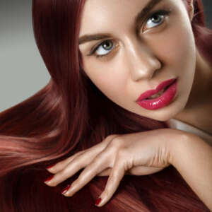 Tymeless Hair Micro Ring Weft Auburn 100gms