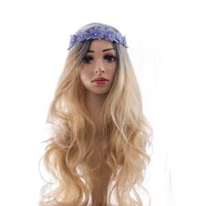 Tymeless Hair Wigs dark root long blonde wig