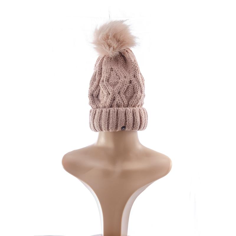 Dusty Pink Wig Beanie