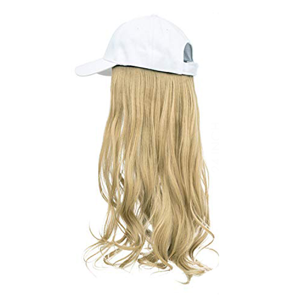 Honey Blonde Hair White Cap Wig Tymeless Hair