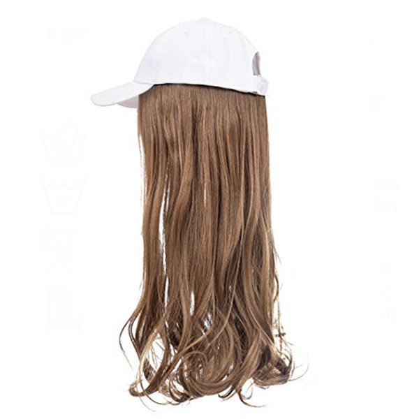 Chestnut Brown White Cap Wig Tymeless Hair wigs