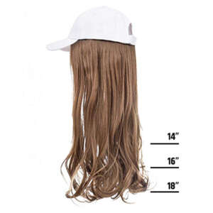 Chestnut Brown White Cap Wig Tymeless Hair wigs