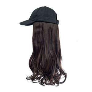 Mocho Brown hair black cap wig tymeless hair