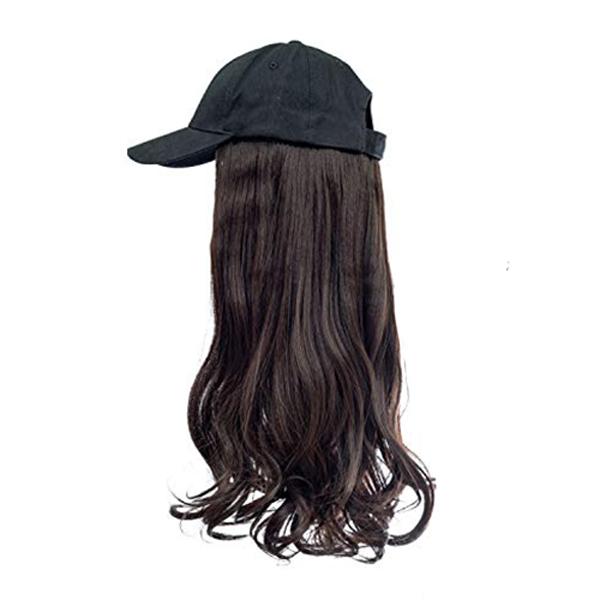 Mocho Brown hair black cap wig tymeless hair