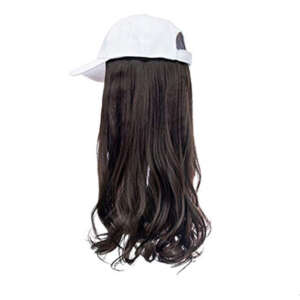 Mocha Brown Hair White Cap Wig Tymeless Hair