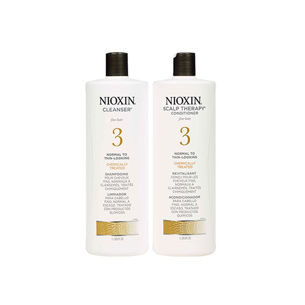 Nioxin System 3 Shampoo and Conditioner Pack