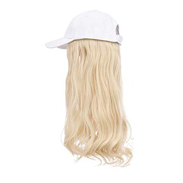 Lightest Golden Blonde White Cap Wig Tymeless Hair