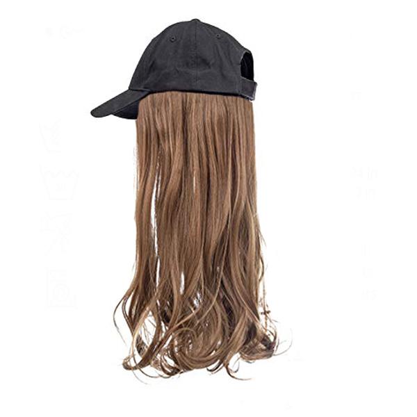 chestnut Brown hair black cap wig tymeless hair
