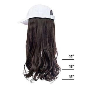 Mocha Brown Hair White Cap Wig Tymeless Hair