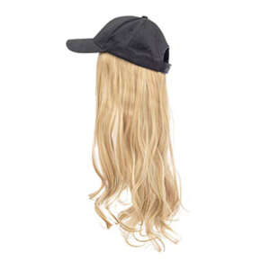 Copper blonde hair black cap wig tymeless hair