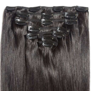 Tymeless Hair Wigs Clip In Extensions Black