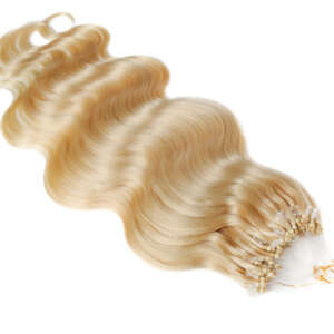 Tymeless hair wigs wefted micro rings 100g light blonde