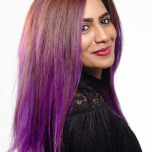 Tymeless Hair Wigs purple ombre