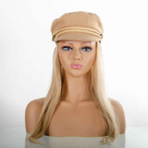 Tymeless Hair Wigs Newsboy Cap Wig