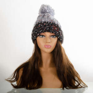 Beige Dark Blonde | 100 % Human Hair | Beanie Wig | 16""