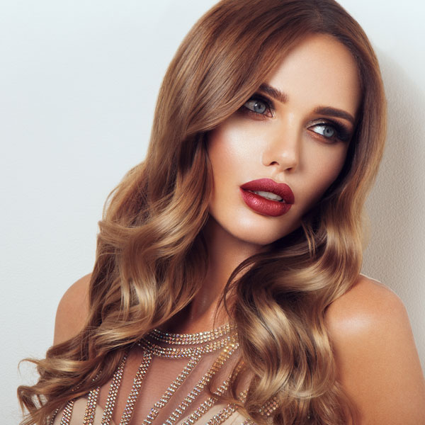 Tymeless Hair & Wig Copper Brown Ombre Wig