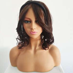 Tymeless Hair & Wigs Tymeless Hair & Wigs Headband Hairpiece with bangs
