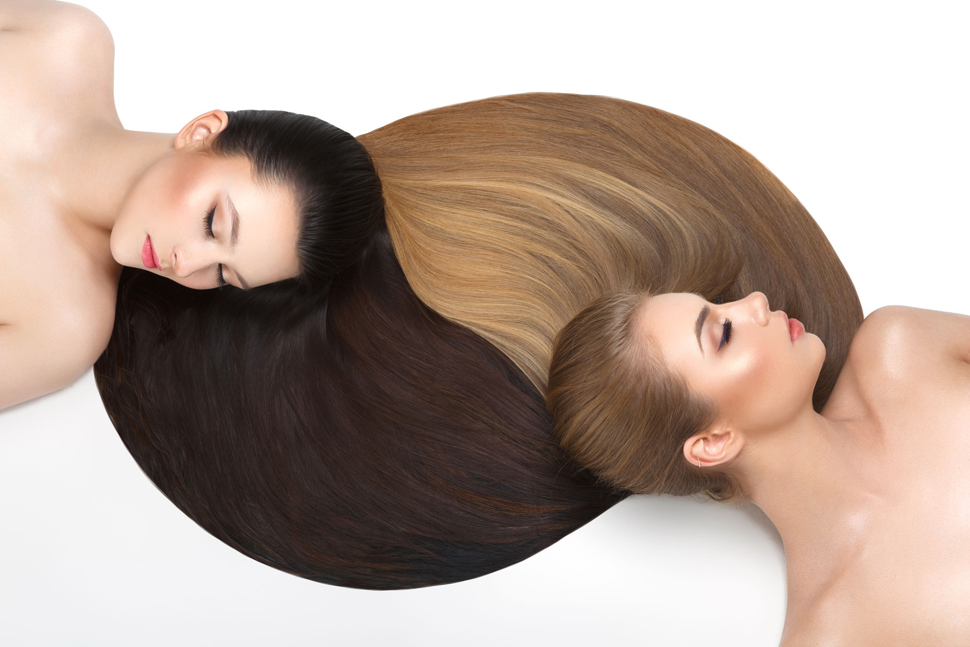 Can you flat iron your wig or hair extensions?
