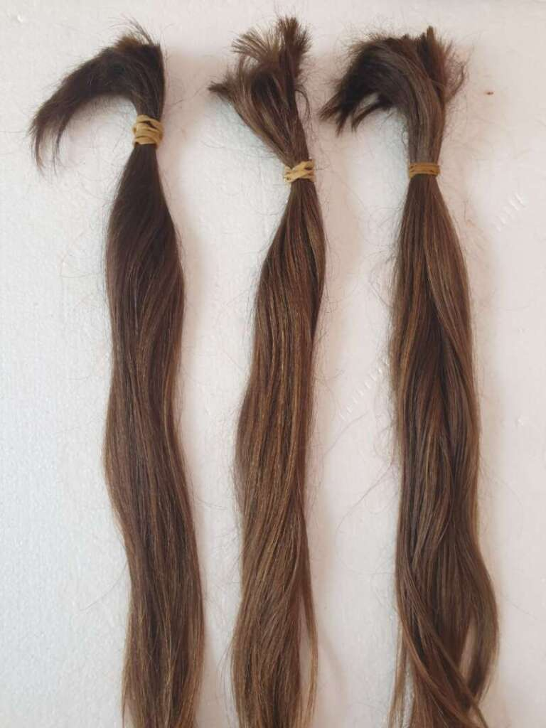 """""""I donated my long locks for a cancer wig"""""""